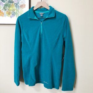 NWT Eddie Bauer Fleece 1/4 Zip Sweater Size M